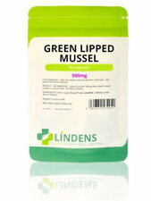 Green Lipped Mussel 500mg Capsules (90 pack) Lindens