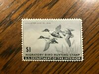RW 12 1945 $1.00 Shoveller Ducks Duck Stamp, Mint Never Hinged - NICE!