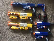 Lot Of 5 Nerf N-Strike guns. 2 Recon CS-6 & 3 Retaliators