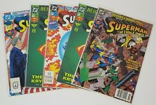 Superman in Action Comics DC Comics Lot of 5