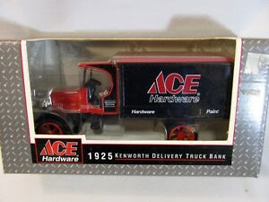 ERTL Ace Hardware 1925 Kenworth Delivery Truck Bank Die Cast 1/34 Scale F397 NEW