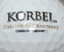 KORBEL CHAMPAGNE BRANDY ALCOHOL LOGO GOLF BALL