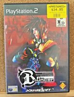 PS2 THE BOUNCER PLAYSTATION TWO 2 PAL SQUARESOFT COMPLETE - DISC EXCELLENT!!!