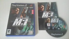 MISSION IMPOSSIBLE OPERATION SURMA - SONY PLAYSTATION 2 - JEU PS2 COMPLET