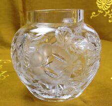 Vase Kristall geschliffen Art Déco Vaso Belle Époque crystal cristal cristallo