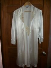 Women's Linea Donatella 2 pc Bridal Lingerie Set~Embellished Nightgown & Robe
