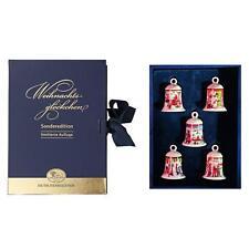 HUTSCHENREUTHER Mini Glocken Set Miniglocken Set Weihnachtsglocke 2008-2012 NEU