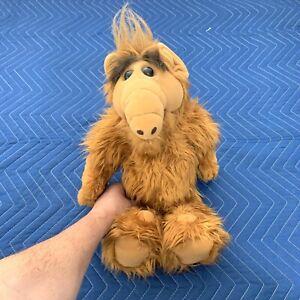 "VTG. ALF 18"" Plush Stuffed Animal Doll Toy Coleco 1986 Alien Productions animal"