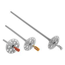 10x260mm 100 Stahl Dämmstoffdübel Dämmstoffhalter Tellerdübel Thermodübel VWS