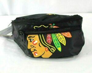 Chicago Blackhawks  NHL Fanny Pack  Black