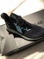 "NEW Adidas Alphaedge 4D - ""Black Iridescent"" Blue / Purple Size 10 FV6106"