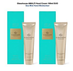 20%OFF Glasshouse Amalfi Hand Cream 100ml DUO Shea Butter Nourish Smooth Hands