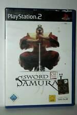 SWORD OF THE SAMURAI USATO BUONO STATO SONY PS2 EDIZIONE ITALIANA GD1 43353