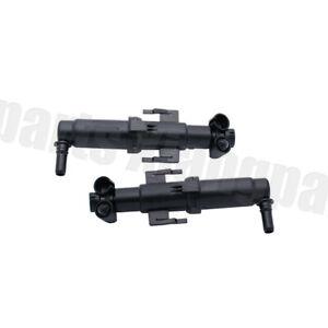 Pair Headlight Washer Spray Wiper Nozzle Jet For BMW 5 Series F07 F10 F11 F18