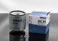Ölfilter Mahle OC 91 BMW R850 R1100 R1150 R1200C mit Dichtring Wartung Ölwechsel