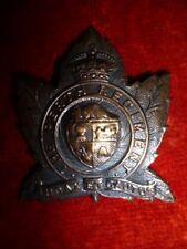 M51 - The Perth Regiment KC Cap Badge - WW2 Canada