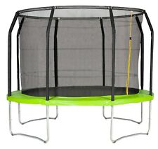 ACTION SPORTS 10FT TRAMPOLINE WITH ENCLOSURE