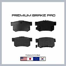 D537 Rear Disc Brake Pad-Premium Set For Accord, Oasis, SX4, Integra, CL, CR-Z