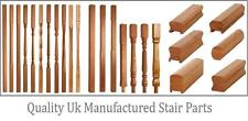 White Oak 41mm Stop Chamfer Stair and Landing Balustrade Kit - UK Manufactured!