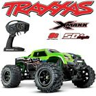 NEW TRAXXAS X-MAXX 8S BRUSHLESS 4WD MONSTER TRUCK GREENX BODY 50+MPH - FREE S/H