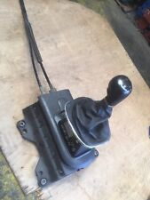VAUXHALL CORSA D 1.7 CDTI DIESEL GEAR LEVER WITH CABLES 55347447 2011 TO 2015.