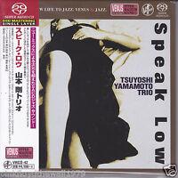 """Tsuyoshi Yamamoto Trio - Speak Low"" Japan Venus Records Audiophile DSD SACD"
