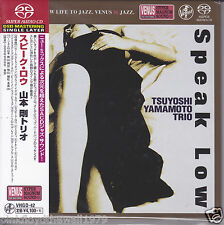 """Tsuyoshi Yamamoto Trio - Speak Low"" Japan Venus Records Audiophile DSD SACD"