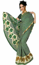 mousseline Bollywood Carnaval SARI ORIENT INDE fo325