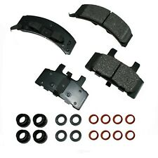 Disc Brake Pad Set-Proact Ultra Premium Ceramic Pads Front Akebono ACT369