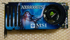 MSI NX8800GTS Video Card 640MB GDDR3 Dual DVI NVidia NX8800 GTS Graphic PCIe