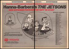 THE JETSONS__Original 1985 Trade print AD / syndication promo__HANNA-BARBERA