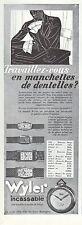 Publicité Montre WYLER  Watch photo vintage print ad  1932  - 6h