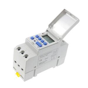 AC 220V LCD Numérique Minuterie électrique Programmable Interrupteur Horaire