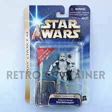STAR WARS Kenner Hasbro Action Figure - SAGA COLLECTION - McQuarrie Stormtrooper