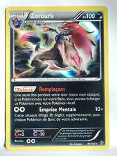 Carte Pokemon ZOROARK HOLO RARE 91/162 Impulsion Turbo Neuve XY XY8 FR