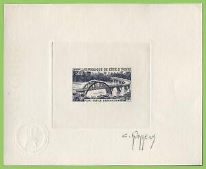 Ivory Coast 1974 500f Sassandra Bridge Sunken Die Proof Essay