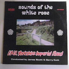 "33T SOUNDS THE WHITE ROSE Disque LP 12"" YORKSHIRE IMPERIAL BAND - KIRKLEES 1002"