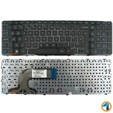New HP Pavilion 15-N297SA Replacement Laptop Keyboard Black UK Layout With Frame