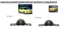 4820 FIAT CINQUECENTO SEICENTO COPPIA 2 BOCCOLE SUPPORTO X BARRA STABILIZZATRICE