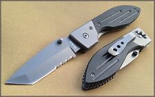 KA-BAR WARTHOG FOLDING KNIFE 4.5 INCH CLOSED WITH POCKET CLIP G10 HANDLE
