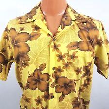b92928aa Vintage 60s Made In Hawaii Aloha Shirt Size Medium 44