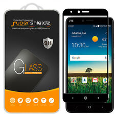 Supershieldz ZTE Blade X Max Full Cover Tempered Glass Screen Protector (Black)