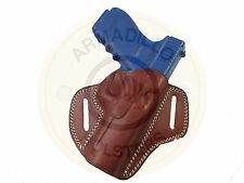 Armadillo Holsters Tan Leather Butterfly Belt Holster for Glock 21 (G6-21) (OWB)