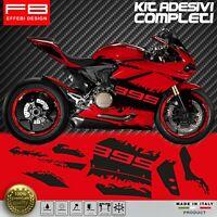 Adesivi Stickers Kit Ducati 899 Panigale Corse FACILE APPLICAZIONE ALTA QUALITA