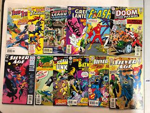 Silver Age (2000) 12 part storyline VF/NM Complete Set DC Flash JLA Teen Titans