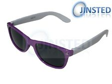 High Quality Childrens Sunglasses Kids Childs Purple White Frame Sunnies KR010