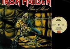 Iron Maiden-Piece Of Mind-VINYL LP-USED-Aussie press
