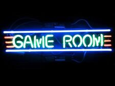"New Game Room Beer Logo Neon Light Sign 17""x6"""