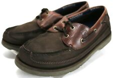 Sperry Top-Sider Authentic Original $95 Men's Boat Shoes Size 9 Leather Brown