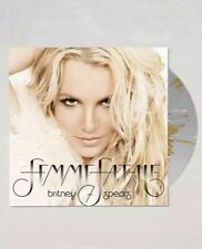 BRITNEY SPEARS FEMME FATALE GOLD SPLATTER LIMITED VINYL LP RECORD SOLD OUT